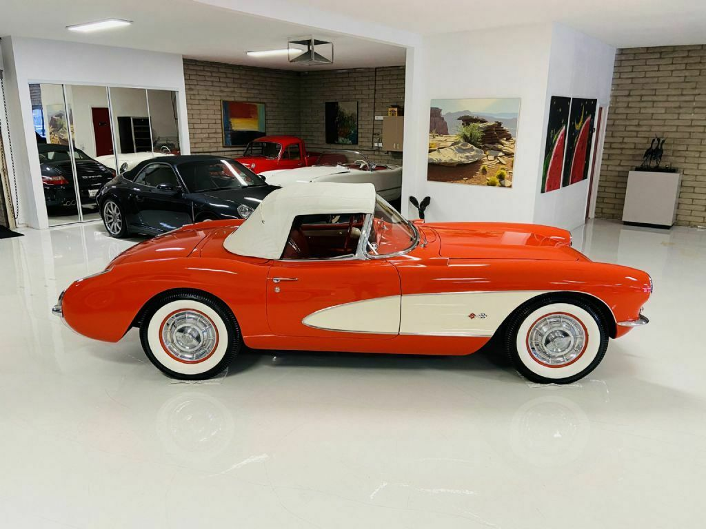 1957 Red Chevrolet Corvette     C1 Corvette Photo 10