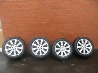 """RANGE ROVER VOGUE/SPORT/VW T5, 20"""" STORMER ALLOYS WITH VERY GOOD TYRES"""