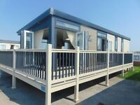 Unique Holiday Home with Decking on North Wales Premier Park !!