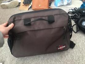 Eastpak shoulder bag with laptop sleeve