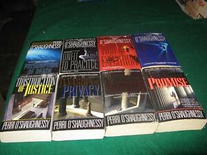Perri Oshaughnessy books $1 each or $5 for the lot