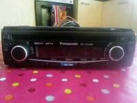 Panasonic 50x4 CD MP3 Tuner Aux Player Car radio Car stereo Car headunit