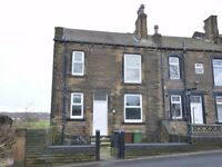 An unfurnished newly decorated 2 bedroom house on Churwell Hill LS27 7SA
