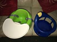 Bumbo baby seat & bath safety seat