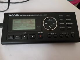 TASCAM's GB-10 guitar and bass trainer/recorder