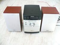 Sony HCD-EH15 Micro MP3 Radio CD HIFI Compact System Stereo