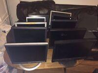 "Job Lot of 10x Various 15"" 17"" & 19"" LCD Monitors - Export - West Drayton #2"