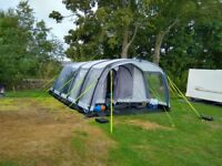 Kampa Hayling 6 Airbeam tent.