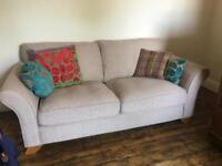 2.5 seater Oak Furniture Land Sofa
