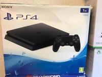 Sony 1TB PS4 fully boxed