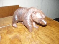 a bavarian carved bear figure sculpture hand carved made circa 1930s 50s