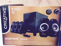 CREATIVE INSPIRE T6300 5.1 high performance speaker system