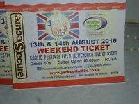 4 Tickets for Jack up the 80's - Isle of Wight