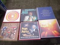 6 box sets and lps 10pounds
