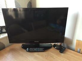 "Samsung 32"" HDTV with Now TV box"