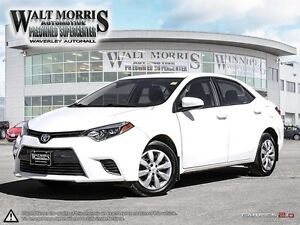 2016 Toyota Corolla LE - HEATED SEATS, REAR VIEW CAMERA, BLUETOO