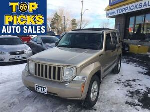 2010 Jeep Liberty NORTH EDITION, SKY SLIDER ROOF, BUCKETS AND CO