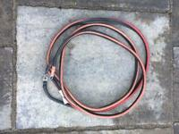 Outboard motor engine 10 foot long battery cables