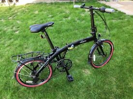 """ECOSMO 20"""" Lightweight Alloy Folding City Bike Bicycle, 12kg. Never Been Used"""