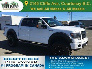 2014 Ford F-150 FX4 Navigation 6-inch Lift