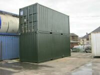 Used 20ft Shipping Containers FOR SALE £1450+Vat IN STOCK portable cabin industrial office scotland