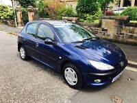 2005 55 Peugeot 206 1.4 hdi only £575