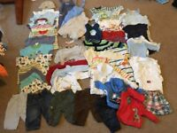 Bundle of baby clothes - 3-6 months