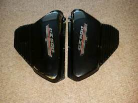 Honda CX500 left and right side cover fairing plastic