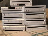 9 x Nintendo Wii consoles