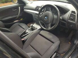 image for 2010 1 series BMW 118D M Sports 82k MOT HPI Cleared Garaged £30 tax may Take PX WHY