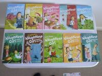 Enid Blyton's The Naughtiest Girl Book set Collection (10 Books)