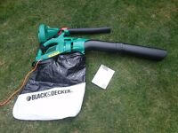 Black and Decker Leaf blower & vacuum unused