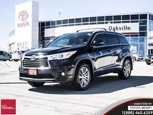 2014 Toyota Highlander XLE w/ Leather, Navigation And Back up Ca