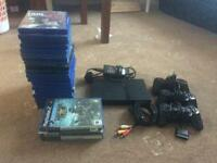 Sony PS2 Slim with 24 games