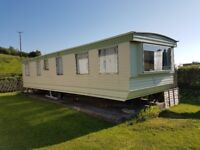 8 brith caravan for sale in mid wales with 1 month free rent BAND NEW COOKER