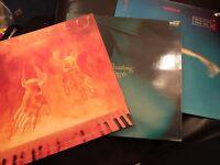 "3x Vangelis 12"" vinyl records, heaven & hell, beauborg & China"
