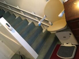 Selling Second hand curved stairlifts