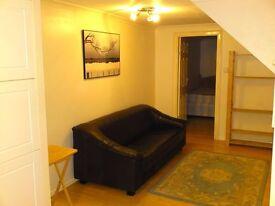 Ground floor 1 bed flat inc all bills. Minutes walk to Dollis Hill station. Inc all bills and wi-fi