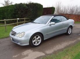 Mercedes CLK240 2.6 convertible. Well cared for and very clean