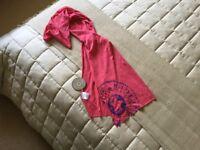 Brand new Kipling cotton ladies pink scarf.