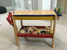 Pintoy Wooden Childs Workbench