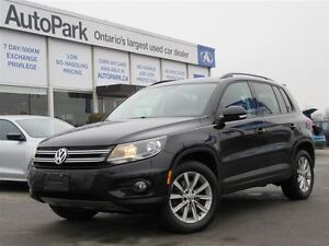 2013 Volkswagen Tiguan Panoramic sunroof| Heated leather| Alloys