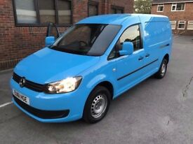 VW Caddy Maxi - Ex British Gas - FSH - Extremely Clean - NO VAT!! - 1 year MOT - Comes with Warranty