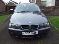 2004 BMW 320D Touring with full years mot drives 100% !!!!!!!!!!!!!!!!