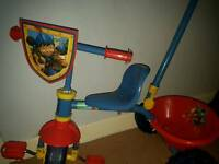 Mike the Knight toddler bike with handle