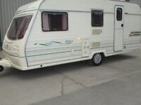AVONDALE DART 515-4 FOUR BERTH TOURING CARAVAN 1999 WITH MOTOR MOVER AND AWNING ! READY TO GO !!