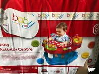 Baby play activity centre