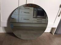 Round IKEA Kolja mirror