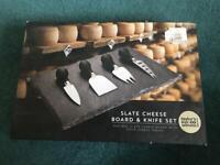 Slate Cheeseboard Set