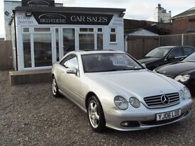 Mercedes CL 500 2006 mot 21 april 2017 full service history